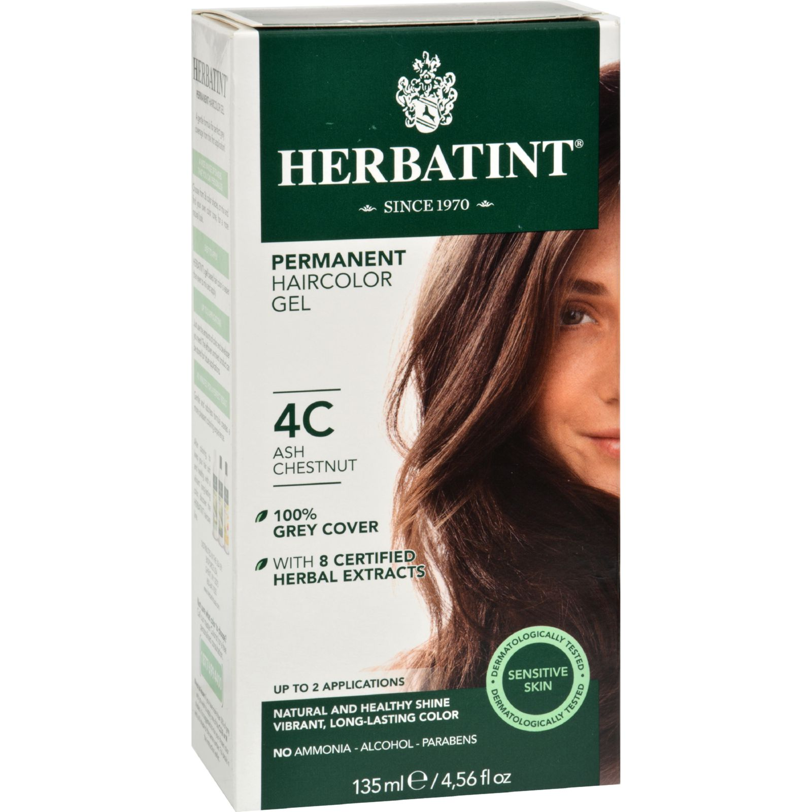 Herbatint Haircolor Kit Ash Chestnut 4C 4.56 fl oz