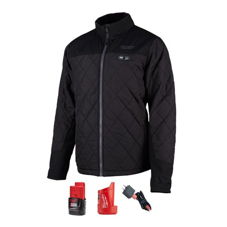 M12 Heated Axis Jacket Coat Kit Xl (black)