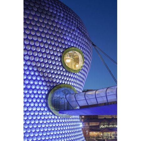 Facade of the Selfridges Department Store in Birmingham, England Print Wall Art By David (Department Stores Birmingham)