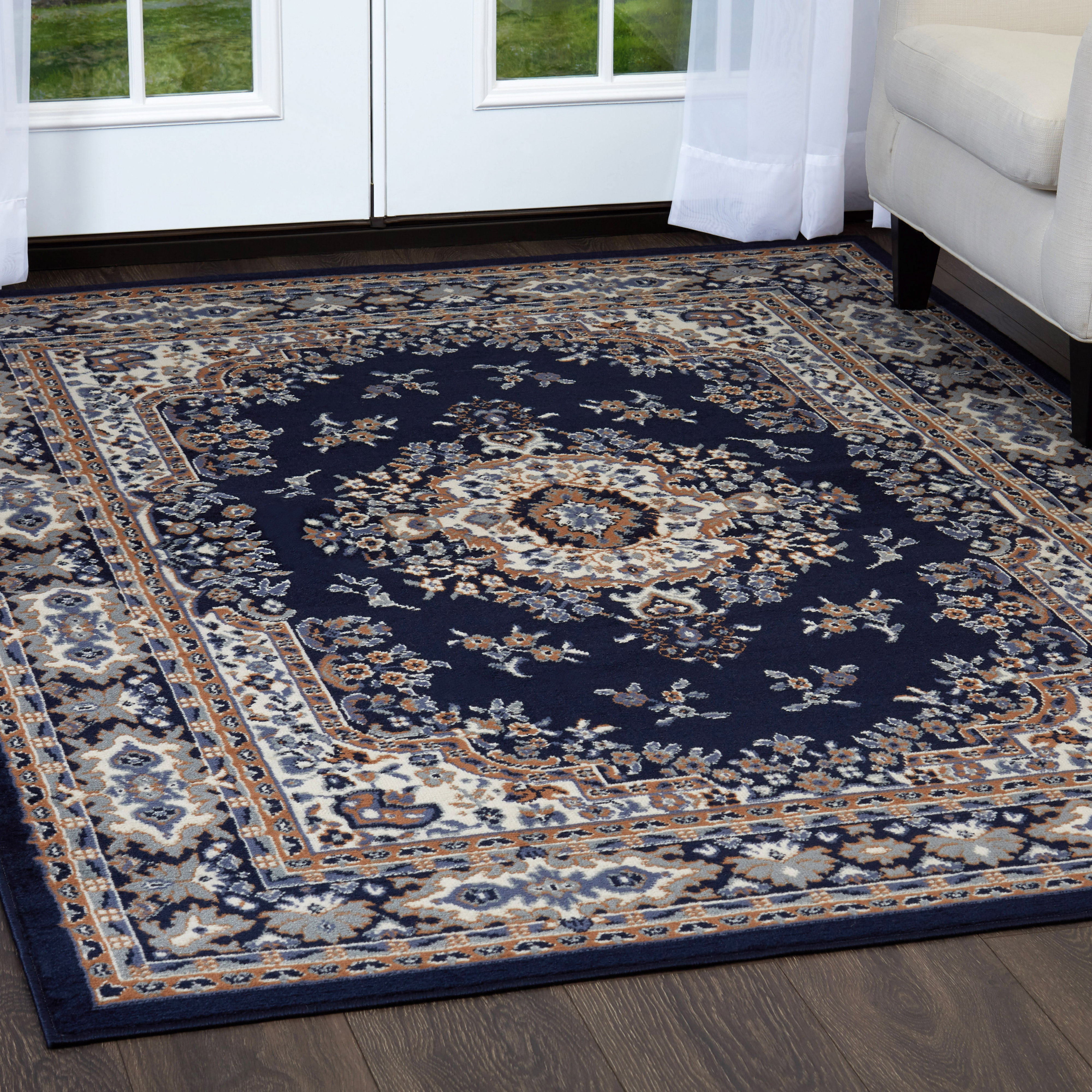 home dynamix premium collection 7069-103 area rug - walmart