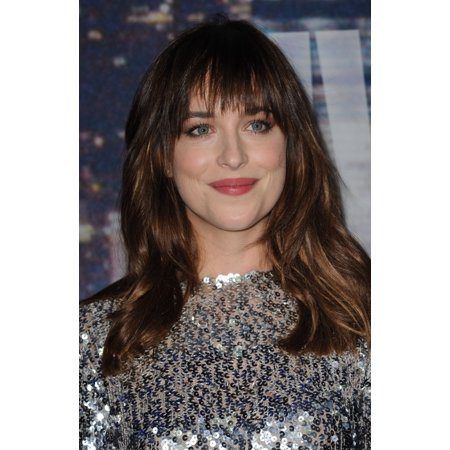 Dakota Johnson At Arrivals For Saturday Night Live Snl 40Th Anniversary Rockefeller Center New York Ny February 15 2015 Photo By Kristin Callahaneverett Collection Photo Print