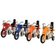 lzndeal Kids Toys Hotwheels Diecasts Toy Vehicles Mini Motorcycle Cute Pull Back Cars Children Boys Gifts
