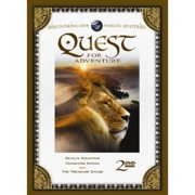 Quest For Adventure: Devil's Mountain   Vanishing Africa   The Treasure Chase by