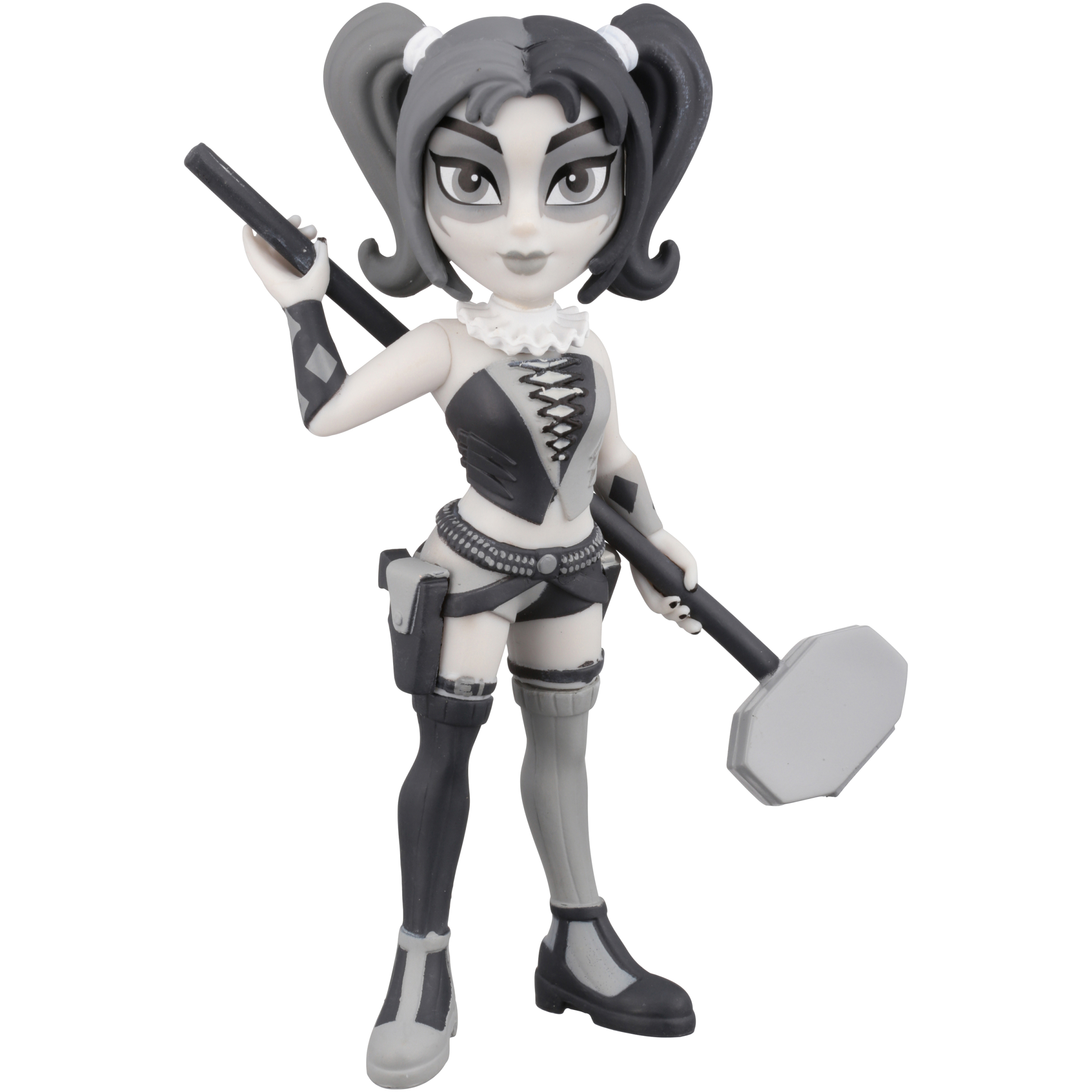 Funko Rock Candy: DC Harley Quinn Black and White Walmart Exclusive by Funko