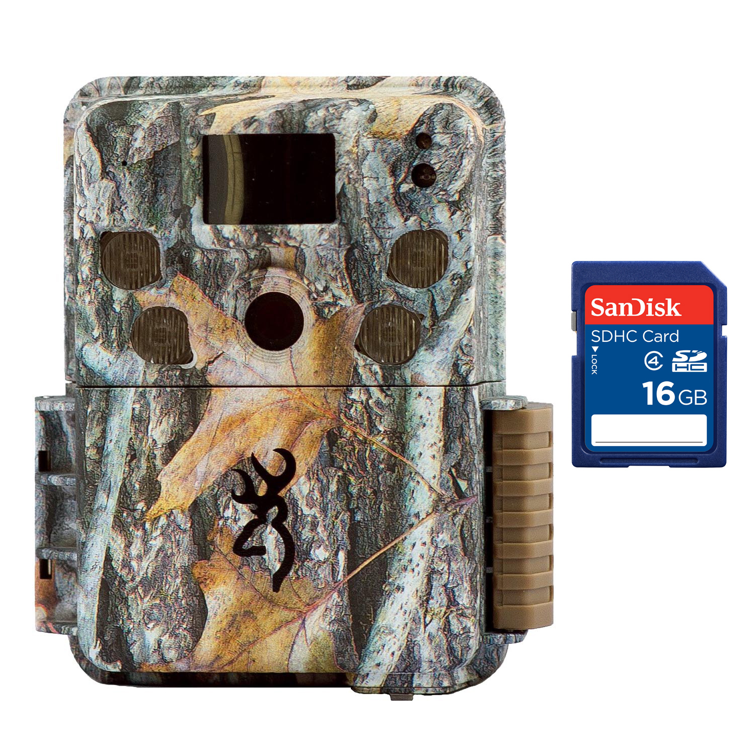 Browning Trail Cameras Strike Force Pro HD Video 18MP Game Camera + 16GB SD Card by Browning Trail Cameras