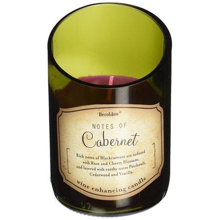 Deco Glow CDL5468 Candle, Wine Bottle Cabernet By DecoGlow