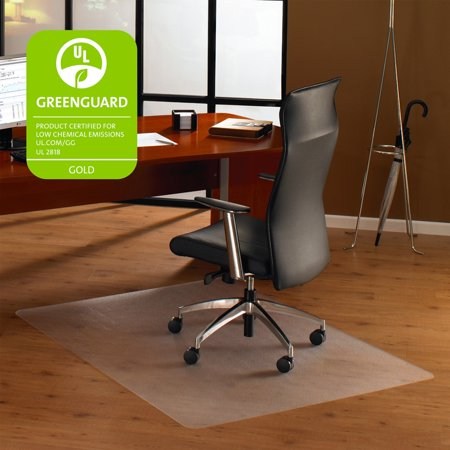 Floortex Cleartex Ultimat 35 x 47 Chair Mat for Hard Floor, Rectangular