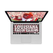 KB Covers Univ of Louisiana at Lafayette Keyboard Cover for MacBook/Air 13/Pro (2008+)/Retina & Wireless (ULA1-M-EDU)