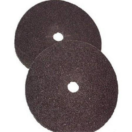 Virginia Abrasives 006-70894 7 x 0.1 in. 100 Grit Floor Sanding Edger Disc, Pack of 10