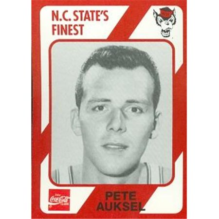 Pete Auksel Basketball Card (N.C. North Carolina State) 1989 Collegiate Collection