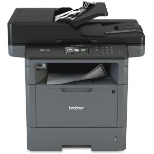 Brother MFC-L5900DW Laser Multifunction Printer - Monochrome - Plain Paper Print - Desktop - Copier/Fax/Printer/Scanner - 42 ppm Mono Print - 1200 x 1200 dpi Print - 1 x Input Tray 250 Sheet, 1 x