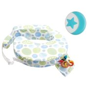 My Brest Friend Original Breastfeeding Pillow with Blue Nursing Light, Sunburst
