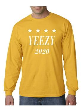 10f3d4e4ad205 Product Image Allwitty 1009 - Unisex Long-Sleeve T-Shirt Yeezy 2020 Kanye  West President Election