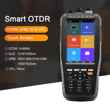 Intelligent Handy OTDR 1310 1550nm with VFL/OPM/OLS Touched Screen Tester OTDR Optical Time Domain Reflectometer TM290 - image 2 of 3