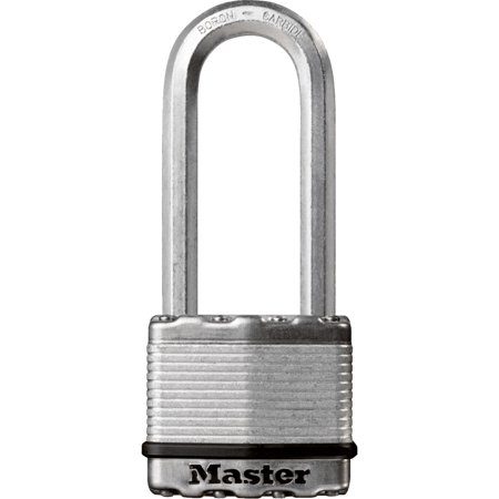 Master Lock 2 In. Wide Dual-Armor Protection Magnum Keyed Padlock