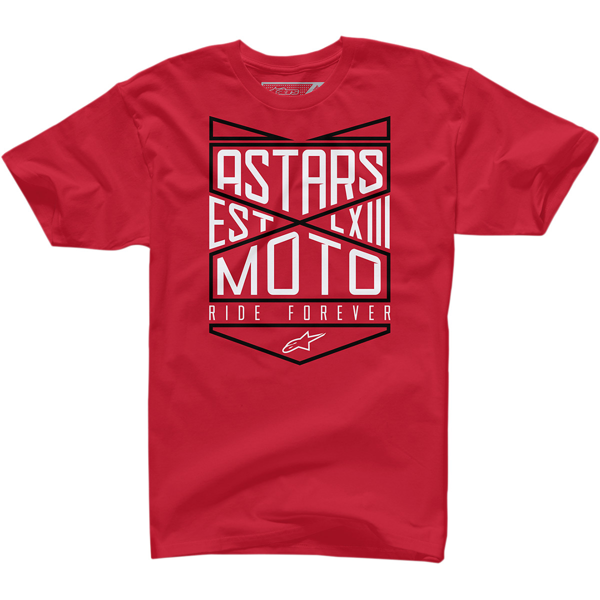 Alpinestars Ride Forever Mens T-Shirt Red