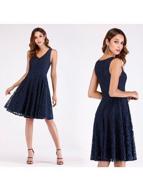 79a6db422d Product Image Ever-Pretty Women s Lace Elegant Knee-Length Formal Evening  Cocktail Party Dresses for Women