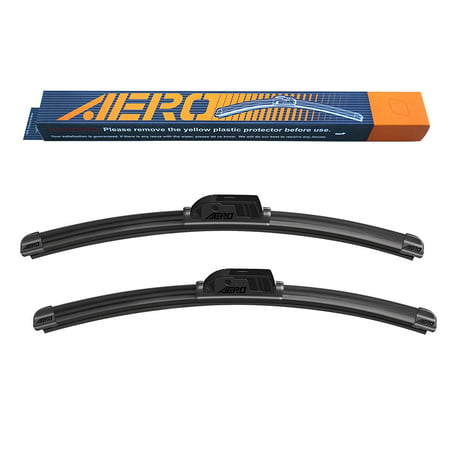 "AERO GMC Acadia 2017-2007 24""+21"" Premium All-Season Beam Windshield Wiper Blades (Set of 2)"