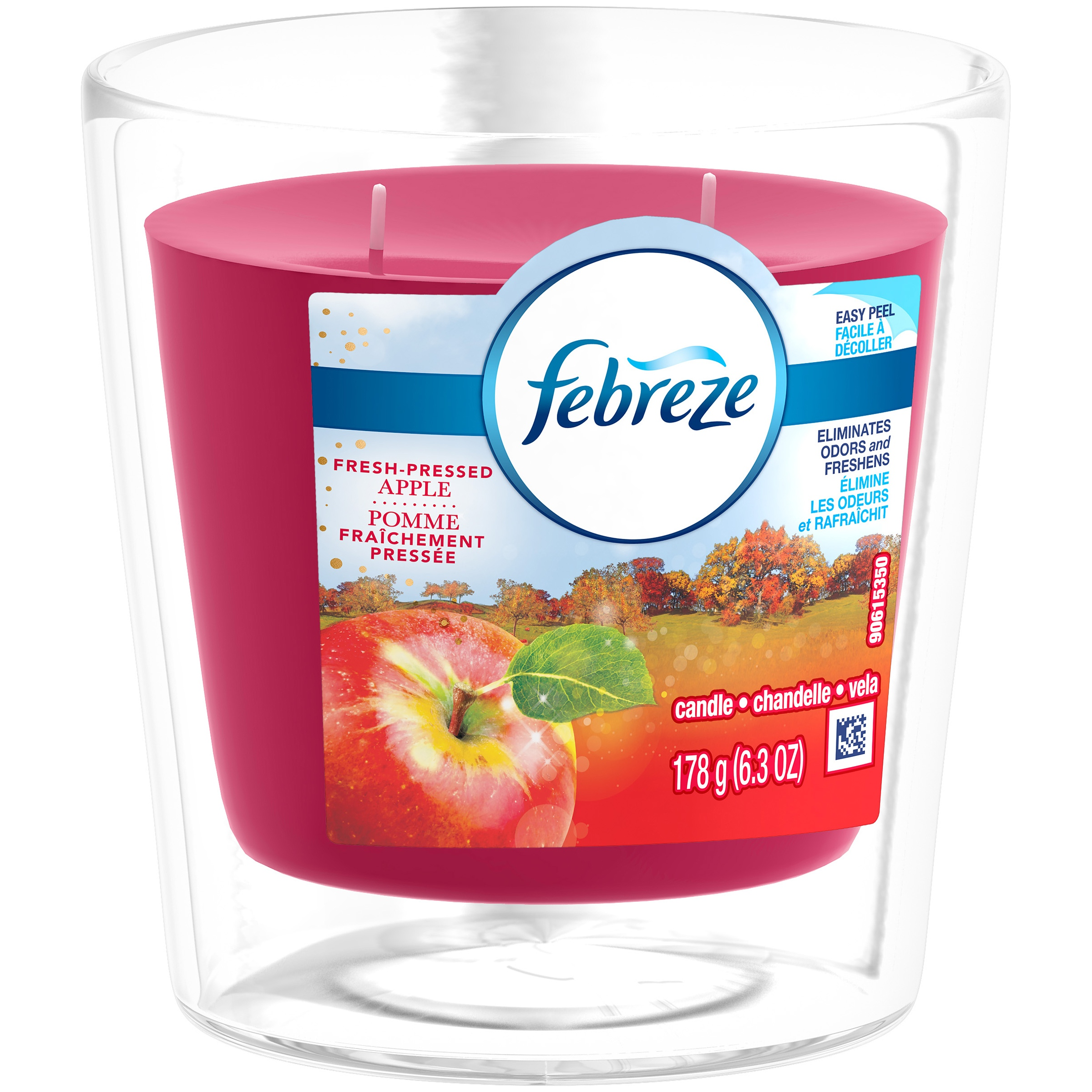 <mark>Febreze</mark> <mark>Candle</mark>, Fresh-Pressed Apple, 6.3 oz