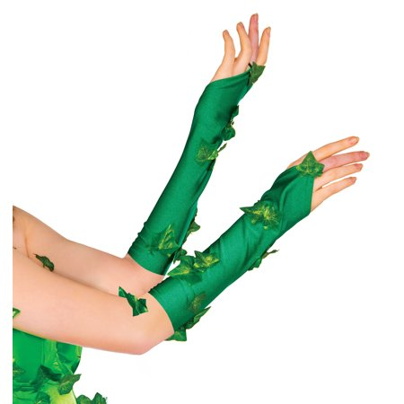 Adult Poison Ivy Glovetts Batman 38033 - Uma Thurman Poison Ivy