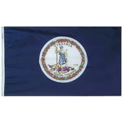 3x5' Virginia Heavy Weight Nylon Flag From All Star Flags