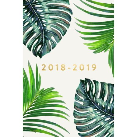 Academic Student Planner with Monthly, Daily, Weekly View fo: 2018-2019: Daily Monthly & Weekly Academic Student Planner - 2018-2019: Ferns, August 2018 - July 2019, 6