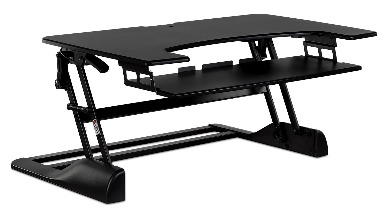 Mount It! Sit Stand Desk Converter 48 Inch Extra Wide (MI 7961)