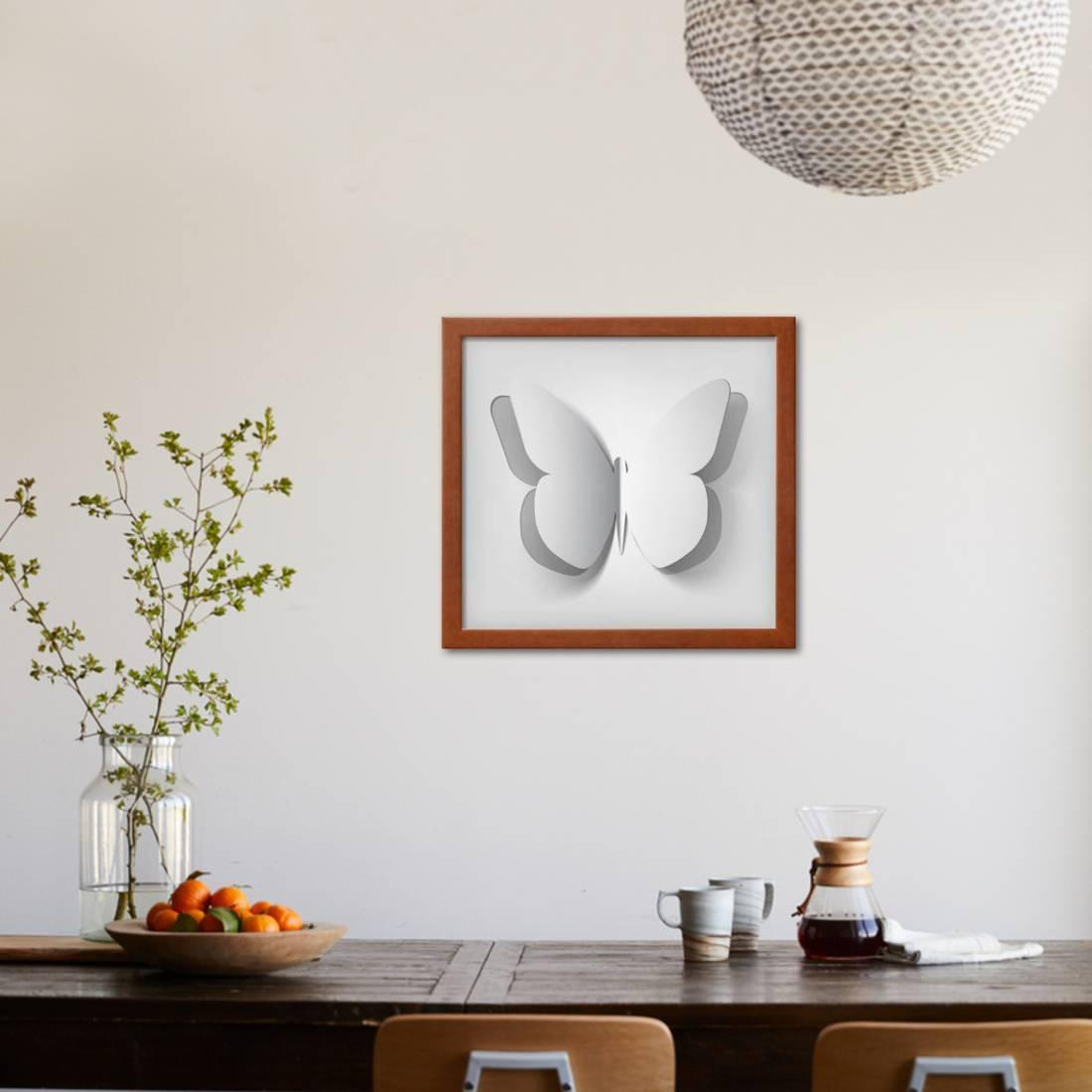 Tremendous Paper Cut Out Butterfly Illustration Framed Print Wall Art By Kundra Download Free Architecture Designs Meptaeticmadebymaigaardcom
