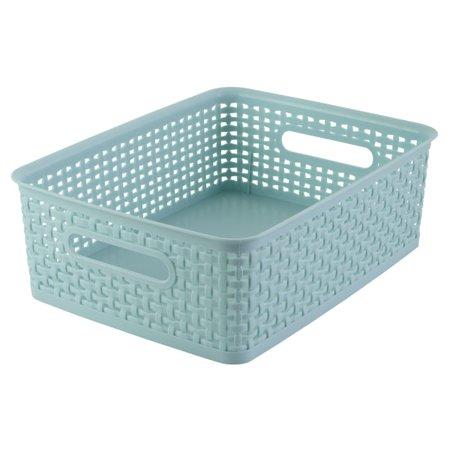 See Jane Work® Decorative Storage, Medium Woven Bin, 4 4/5