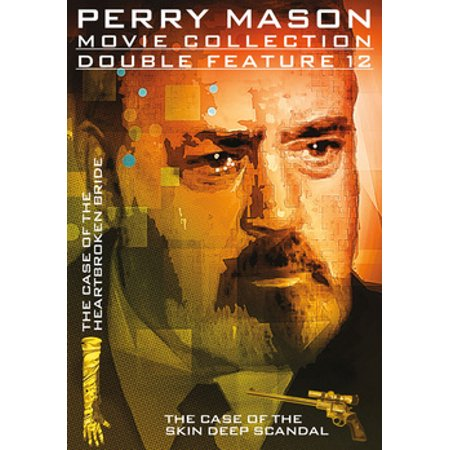Perry Mason Double Feature: Case of The Heartbroken Bride / Skin Deep Scandal (Perry Mason The Case Of The Heartbroken Bride)