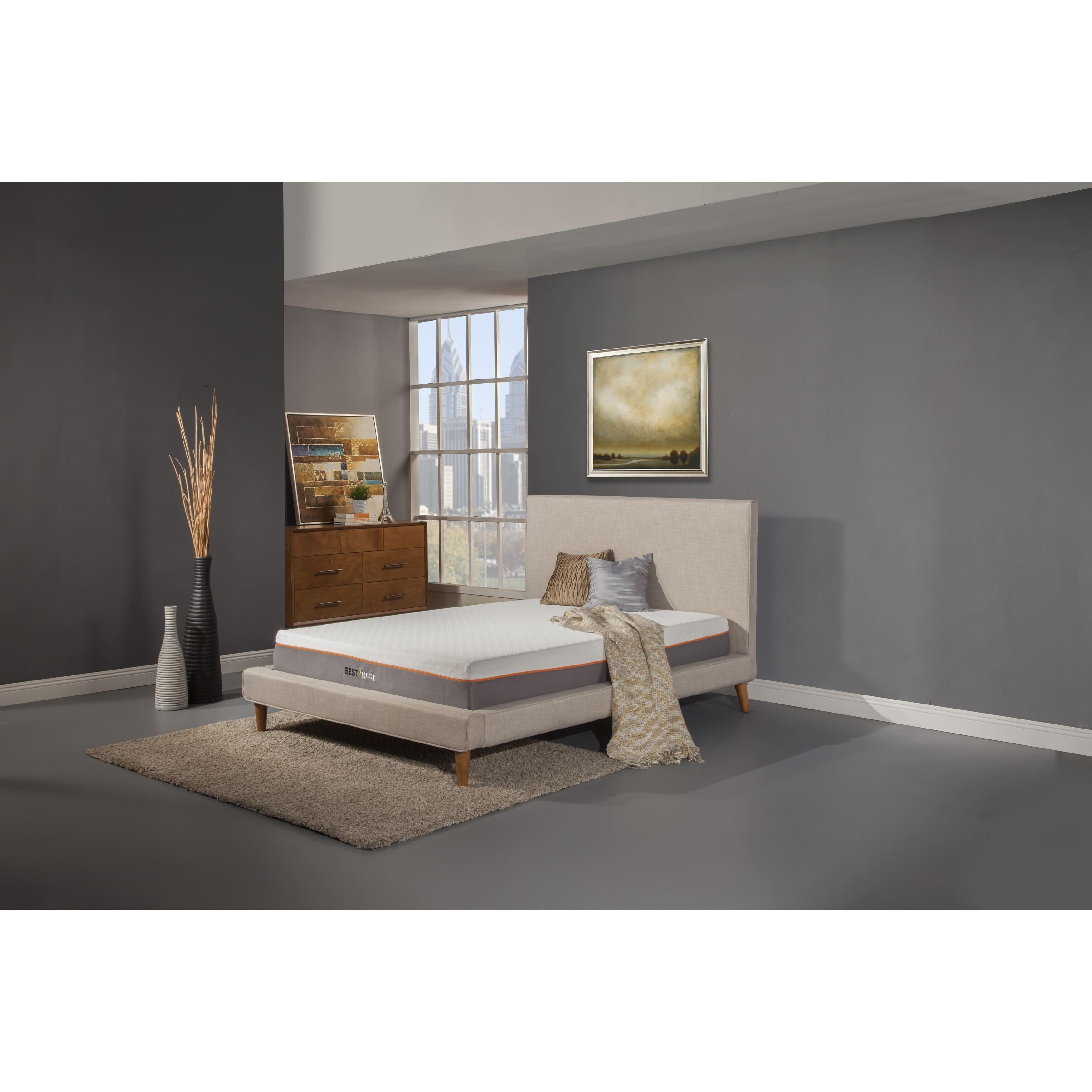 Kittrich Best Rest 9-inch Cal King-size Gel Memory Foam Mattress