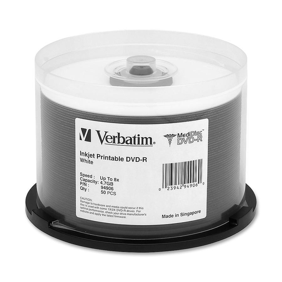 Verbatim 94906 MediDisc 8x DVD-R Media