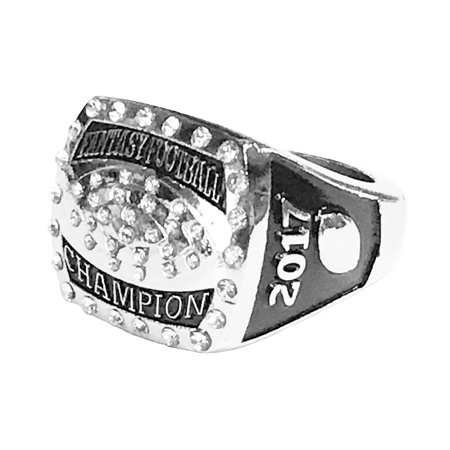 2017 Fantasy Football Championship Ring Trophy League Champ Champion (Size 8)