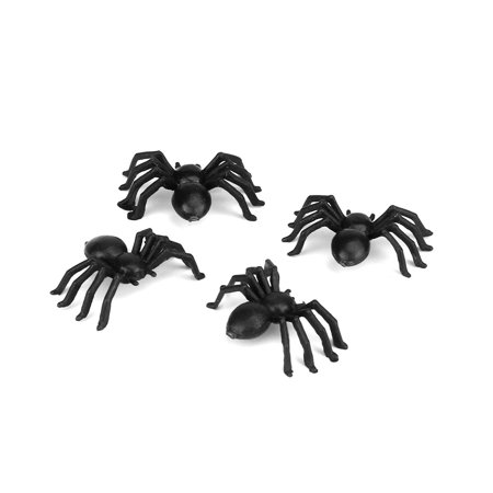 New amusing 20pcs Plastic Spider Trick Toy Party Halloween Haunted House Prop Decor BK (Halloween Haunted Castle Props)