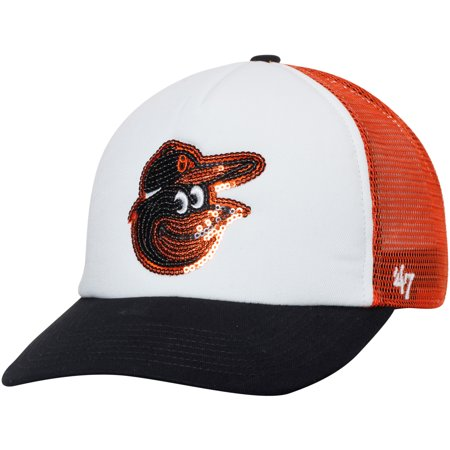 MLB Baltimore Orioles Womens Glimmer 47 Captain Adjustable Snapback ... 168be08d0
