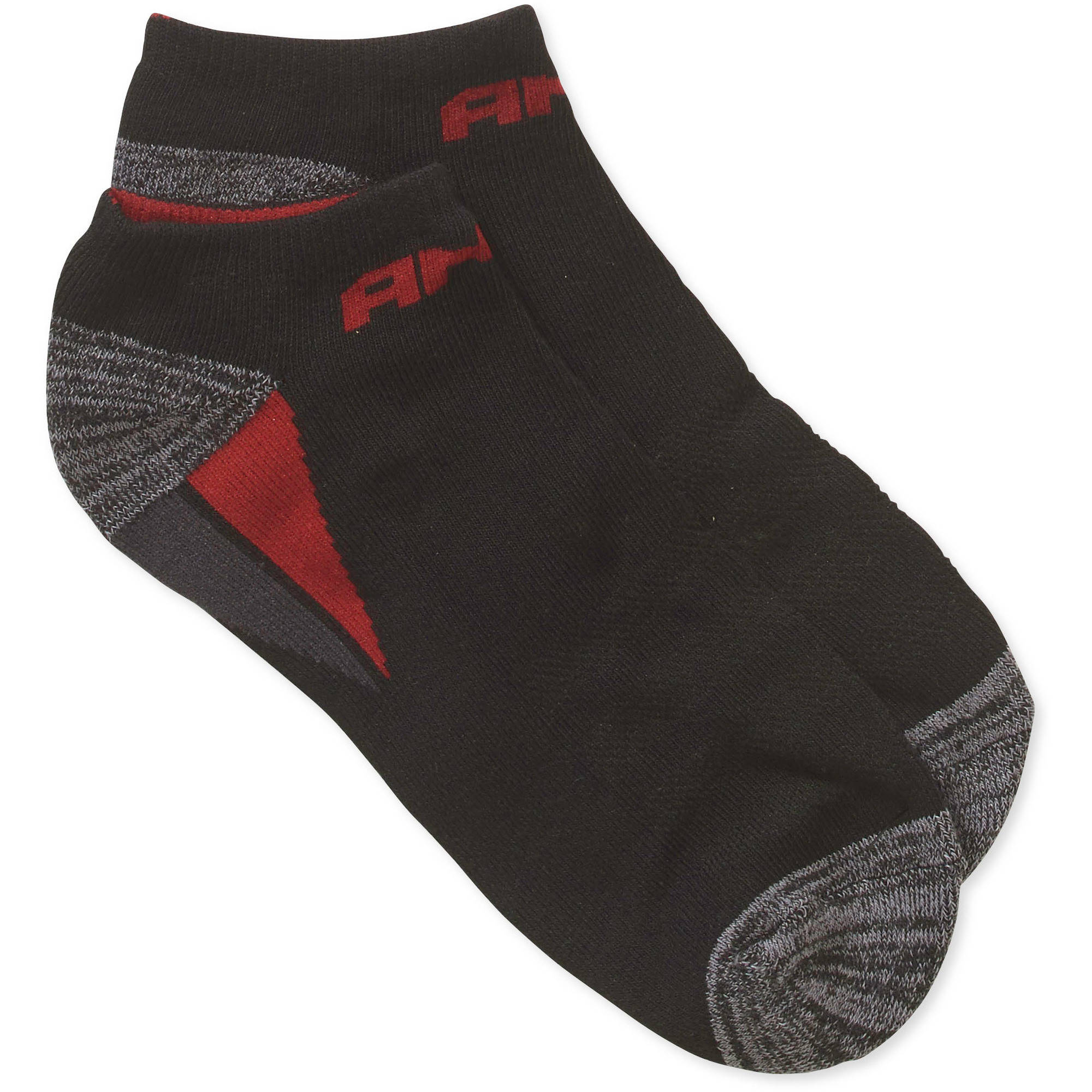 AND1 Men's Cushion Low Cut Socks 3 Pack
