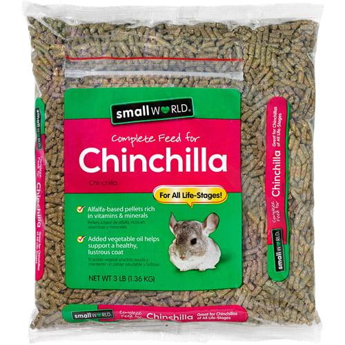 SW Chinclla Food, 3 lbs