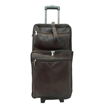 - Piel Leather 22in Wheeled Traveler