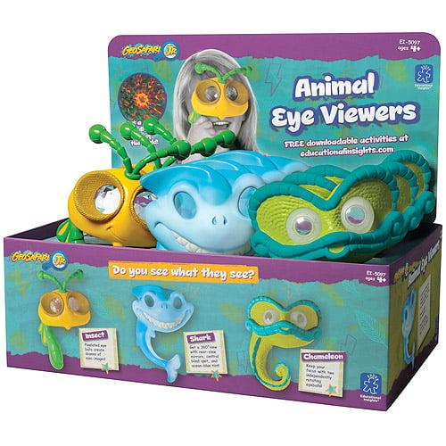 GeoSafari Jr. Animal Eye Viewers Party Pack, Pack of 9