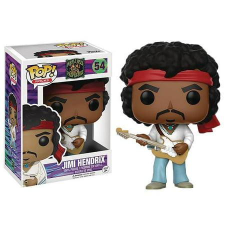 Funko Pop! Rocks Music Jimi Hendrix Woodstock (Pop Halloween Music)