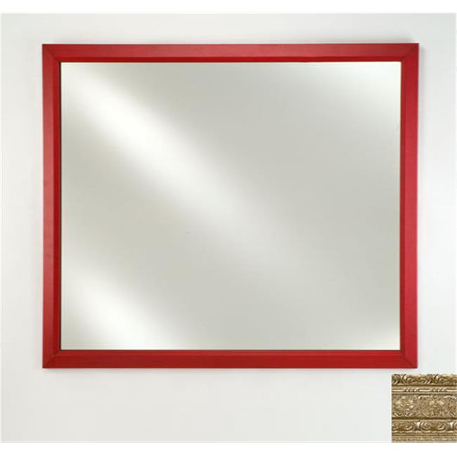 Afina Corporation FM2436REGSV 24 inchx 36 inchSignature Plain Mirror - Regal Silve