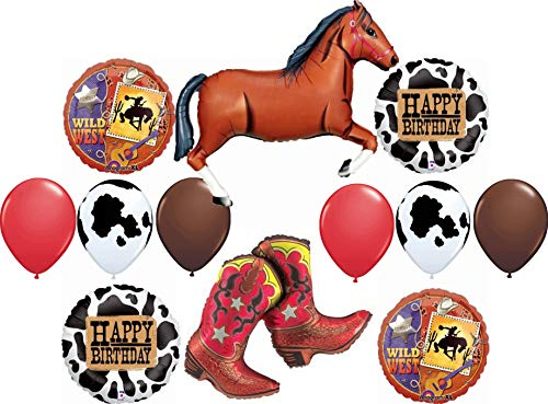 Blue jeans fashion Cowboy Western Rodeo die cuts confetti birthday party favor baby shower table decor invitations inserts Choose color