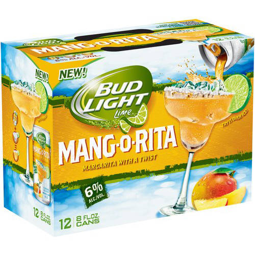 Bud Light Lime Mang-O-Rita, 8 pack, 12 fl oz
