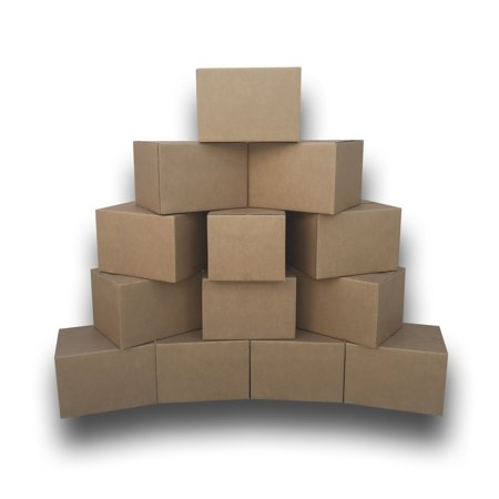 Uboxes Medium Moving Boxes, 18x14x12 in, 10 Pack, Cardboard Box - Wholesale Cardboard Boxes