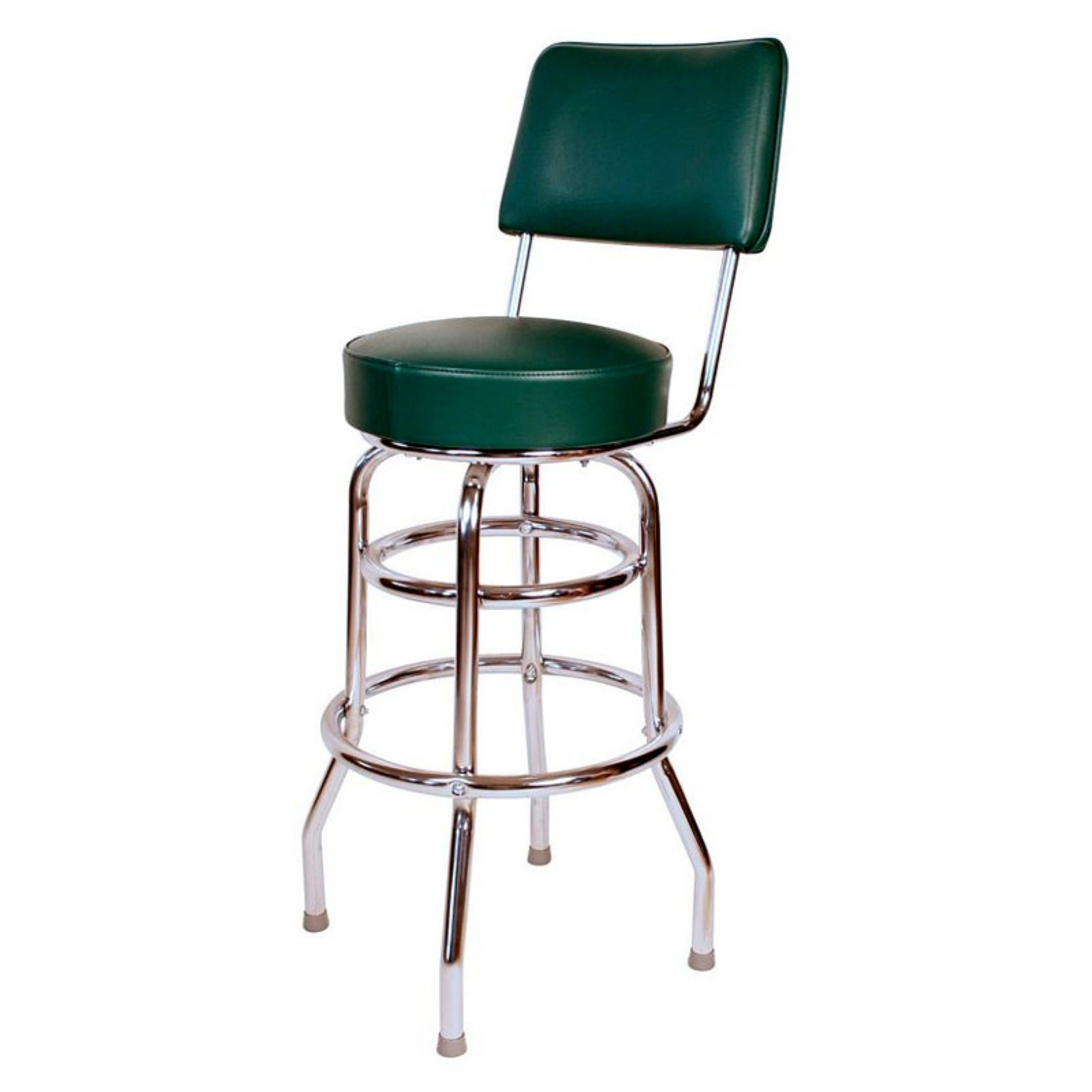 Richardson Seating Floridian 30 in. Double Ring Swivel Bar Stool