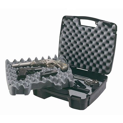 PLANO 10- SE FOUR PISTOL/ACCESSORY CASE PLASTIC RIBBED