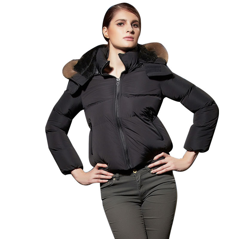 Women Slim Hooded Down Padded Long Winter Warm Parka Outerwear Ladies Zipper Jacket Casual... by GAOBO