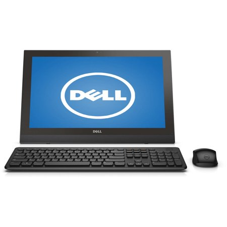"Dell Inspiron i3043-5002BLK All-in-One Desktop PC with Intel Pentium N3540 Processor, 4GB Memory, 19.5"" touch screen, 500GB Hard Drive and Windows 8.1 (Free Windows 10 Upgrade before July 29, 2016)"