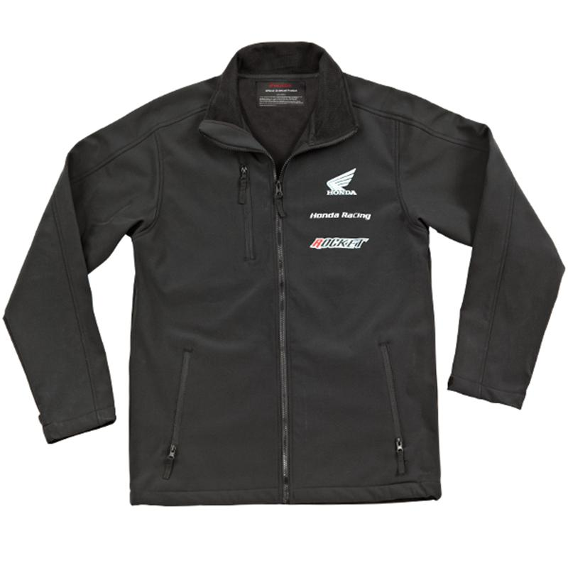 Joe Rocket Honda Racing Soft Shell Jacket Black