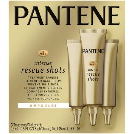 Pantene Pro-V Intense Rescue Shots Ampoules Hair Treatment - 1.5 fl oz